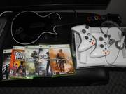Xbox 360 w/ 5 games and more