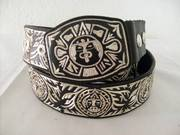 Silver Thread Belt / Cinto
