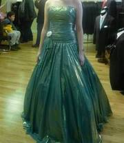 My 2009 Green Prom Dress From The Model Shop