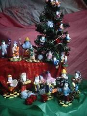 christmas mummers handmade